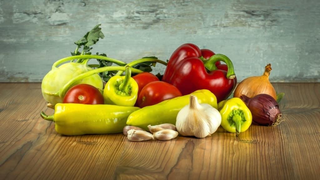 zestaw warzyw