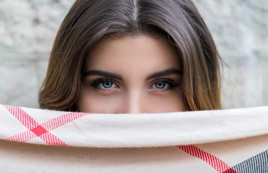 Oczy dziewczyny